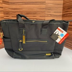 Chelsea 2-In-1 Downtown Chic Diaper Tote NWT